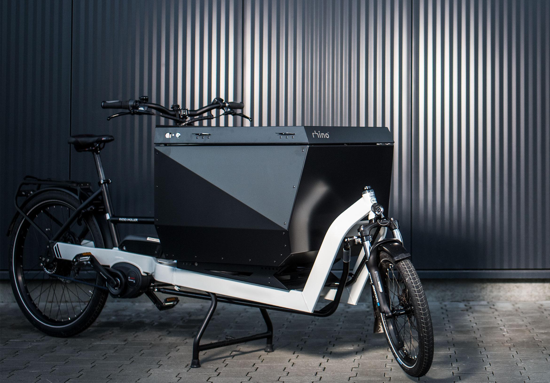 rhino: modulare Containersysteme für Cargobikes