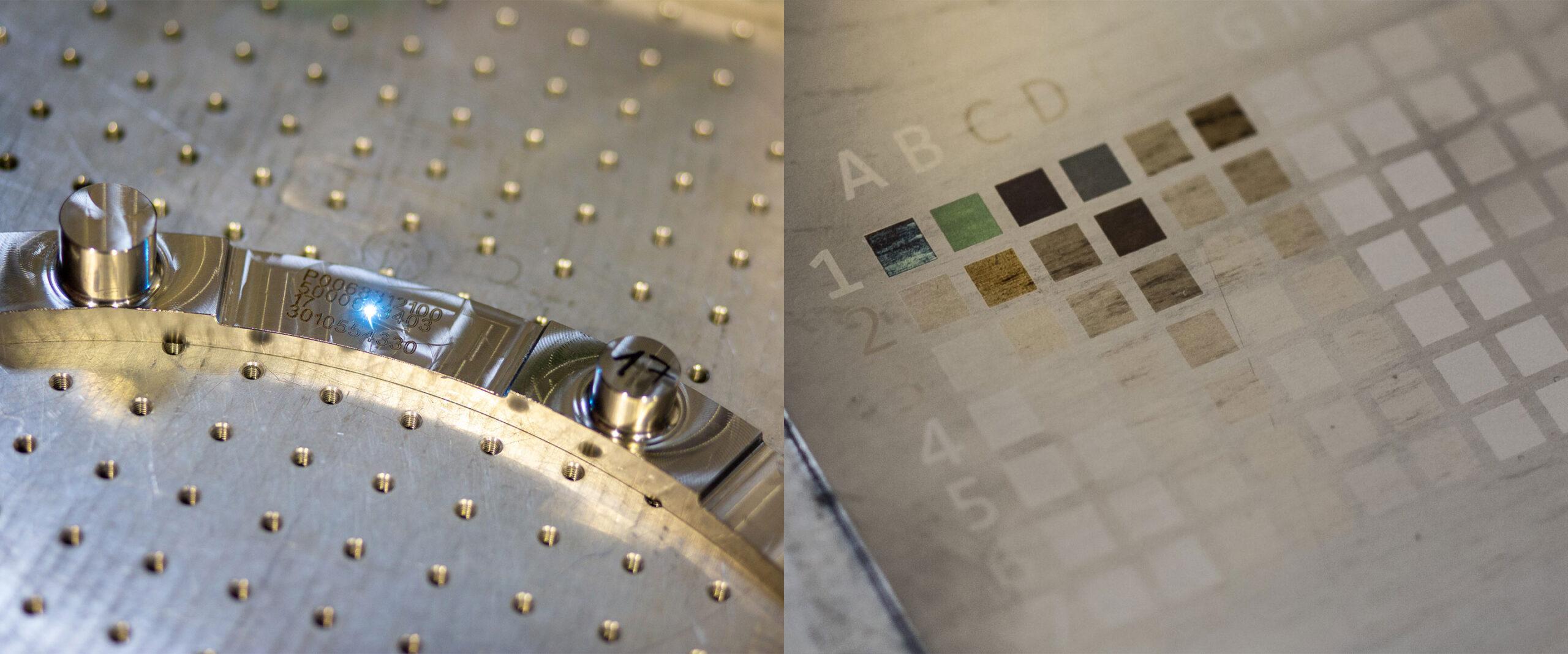 Lasermarkierungen bei LKM - Kunststoff- und Metallverarbeitung