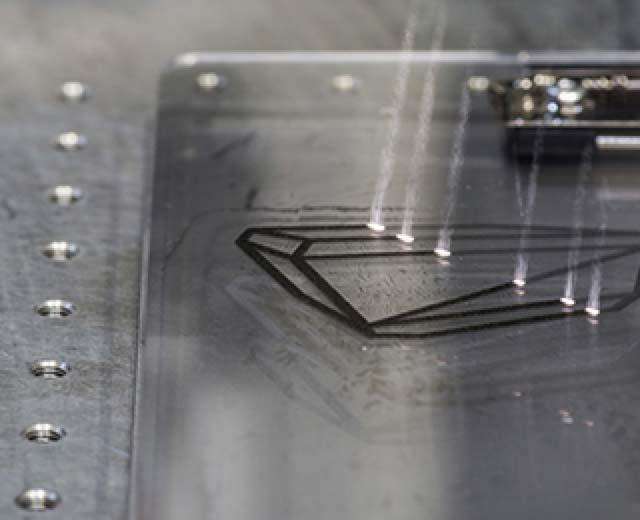 Lasermarkierung bei LKM Berlin Metallbearbeitung