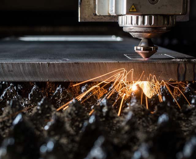 Metallbearbeitung Laserzuschnitt