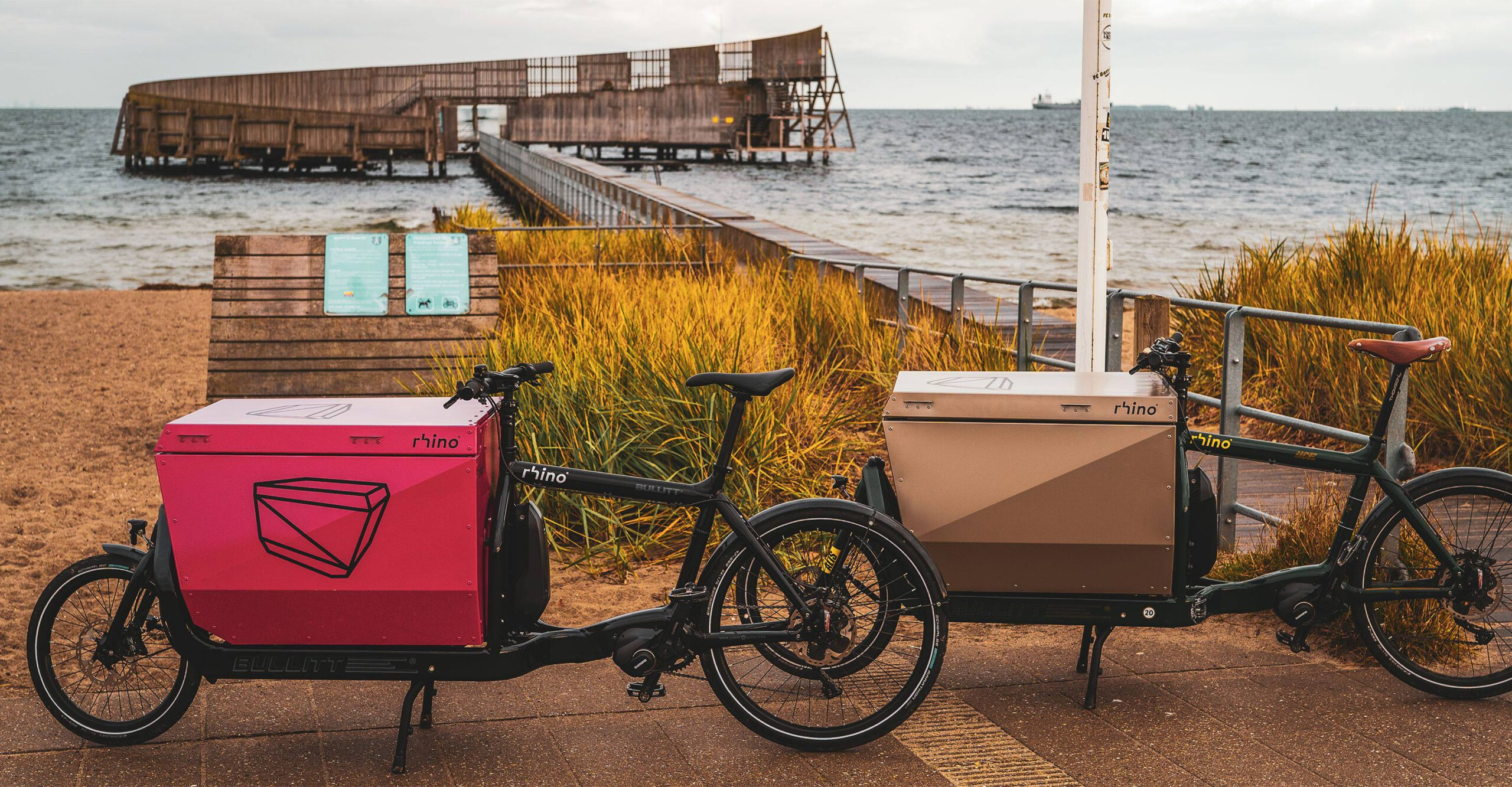 rhino boxes and containers for cargo bicycles